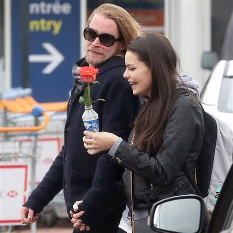 All Smiles from Macaulay Culkin and His New Girlfriend   E