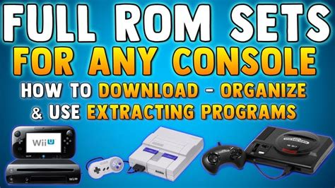 HOW TO GET ROM SETS (No Intro Roms) How To Download Roms