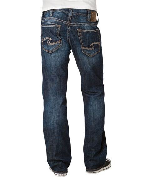 Silver Jeans® Men's Relaxed Fit Straight Leg Jeans - Fort
