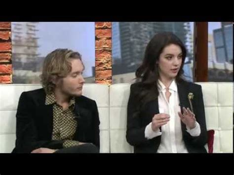 Toby Regbo and Adelaide Kane on cp24 - YouTube
