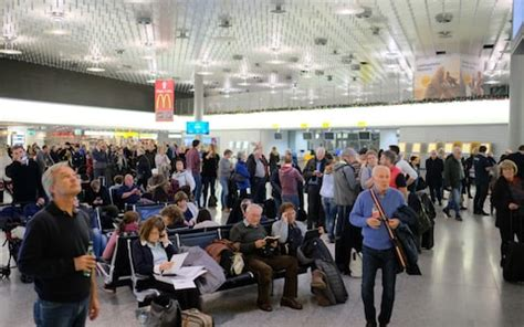 Hannover airport closed for over four hours after car