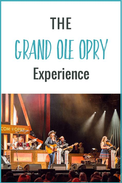 A Magical Grand Ole Opry Experience (what dreams are made of)