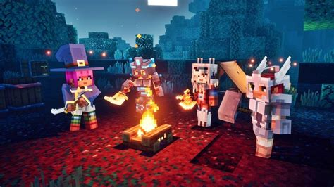 Minecraft Dungeons Launches On Nintendo Switch In April