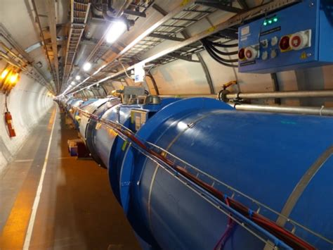 This is how CERN's Large Hadron Collider looks during the