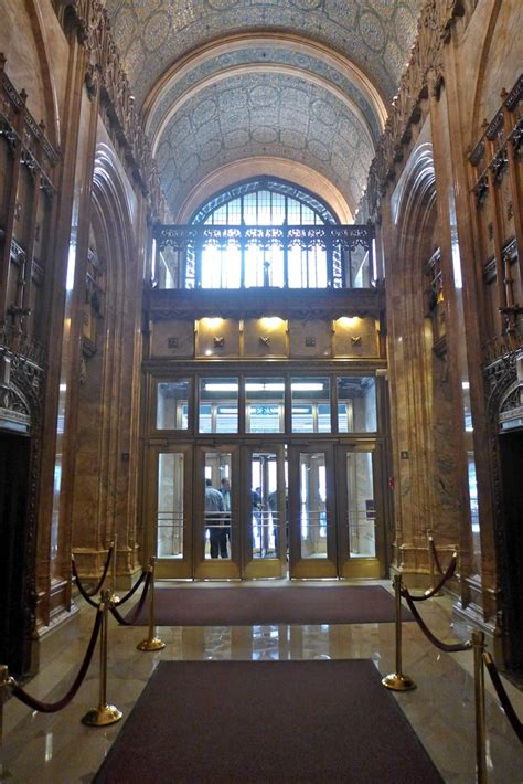 Tribeca Citizen   Inside the Woolworth Building's Lobby
