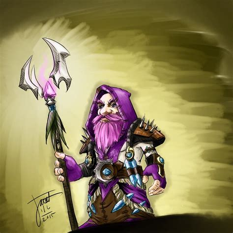 Silly gnomes #art #drawing #warcraft #blizzard #wow #gnome