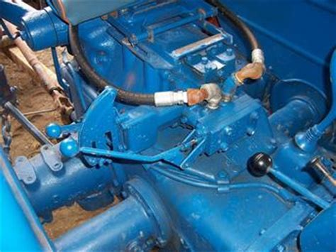 Fordson Power Major 1960 - Piping - TractorShed