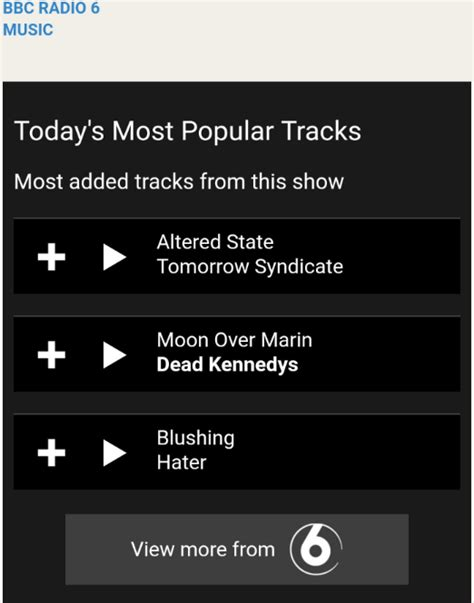 Hater 'Blushing' Most Added Track // Gideon Coe // 20/09