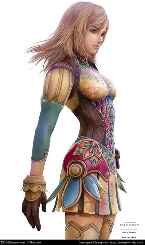 16 Most Beautiful and Stunning 3D Character Designs and