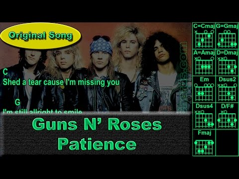 Patience by Guns N' Roses - Ukulele - Guitar Instructor