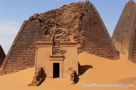 Visiting the Meroe Sites (Sudanese Pyramids)
