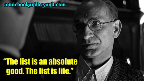 100+ Schindler's List Quotes About A German Industrialist