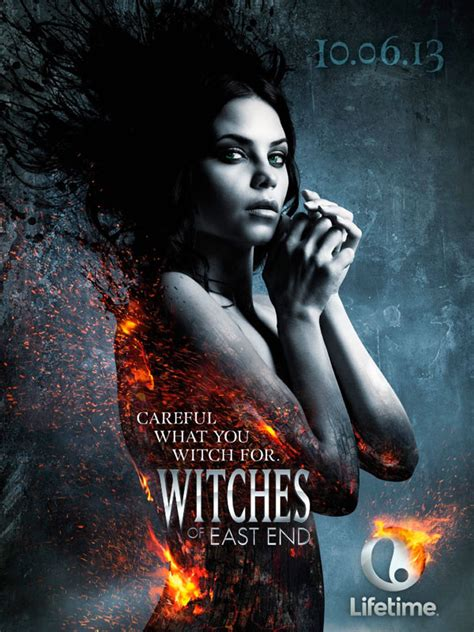Lifetime's Witches of East End - Hot Poster Art - Hell