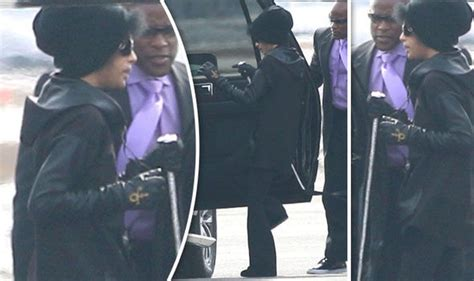 Prince Pictured Looking Frail One Month Before Death