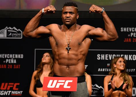 Francis Ngannou 'not impressed' with the performance of