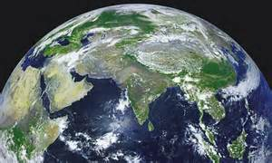High resolution satellite photos create 4K video of Earth