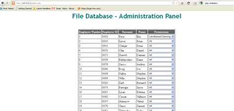 php - Linking HTML table with MySQL table - Stack Overflow