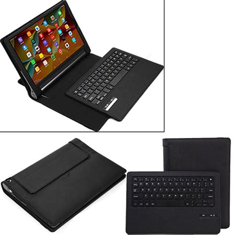 Tablet Case Business Portable Bluetooth Keyboard with PU