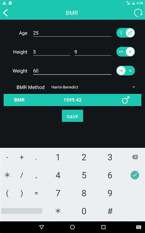 BMI Calculator - Weight Loss & BMR Calculator - Android