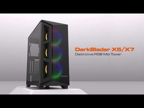 COUGAR Gemini T - RGB Glass-Wing Mid-Tower Gaming Case