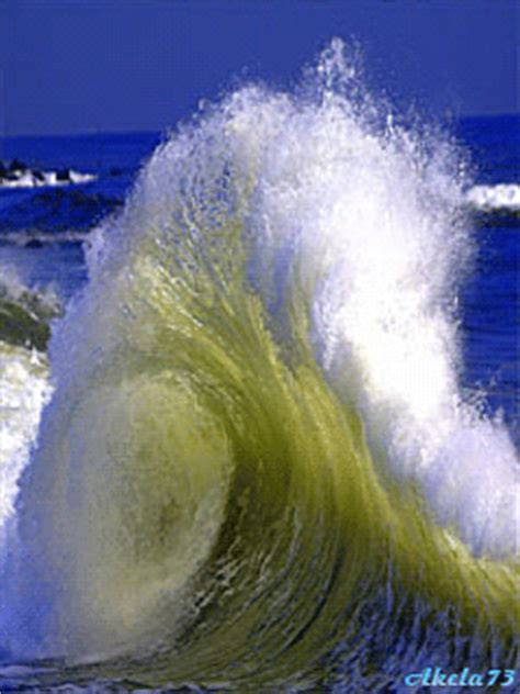 Amazing Water Ocean Waves Animated Gifs - Best Animations