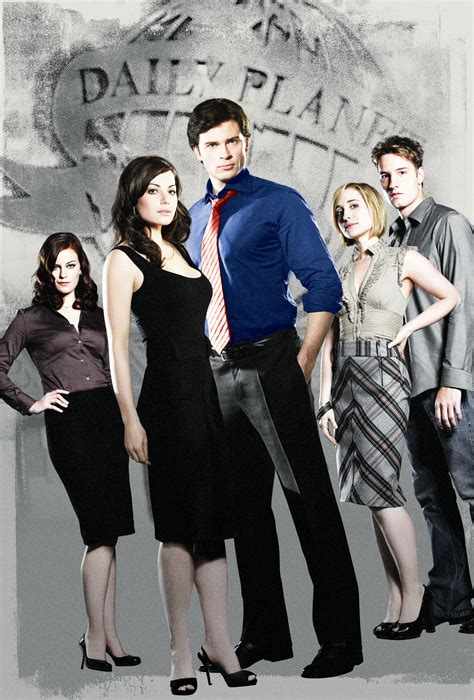 """Tom Welling and """"Smallville"""" Cast and Producers Return to"""