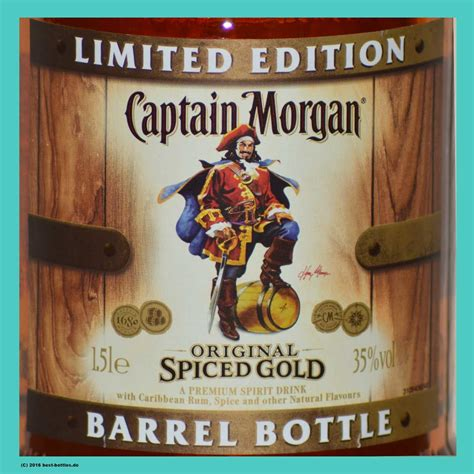 Captain Morgan Spiced Gold 1,5 l Limited Edition