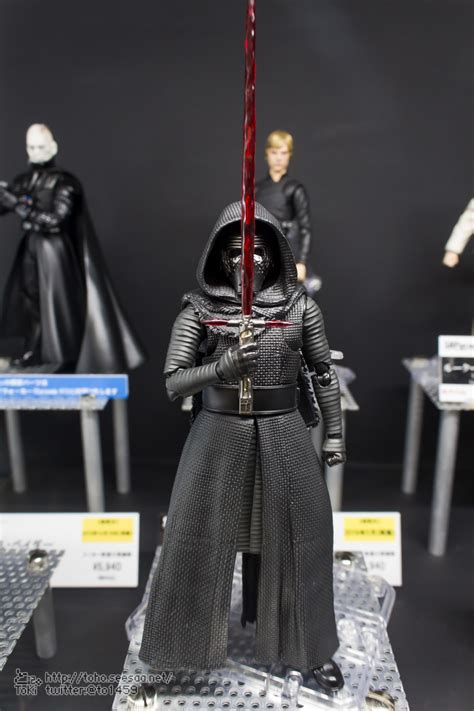 New Star Wars SH Figuarts and Movie Realization Images
