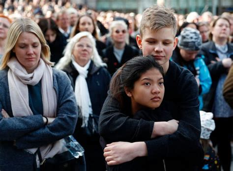 Photos: Thousands attend peace demonstration in Sweden