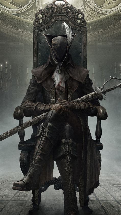 Wallpaper Bloodborne: The Old Hunters : Hunter, Action