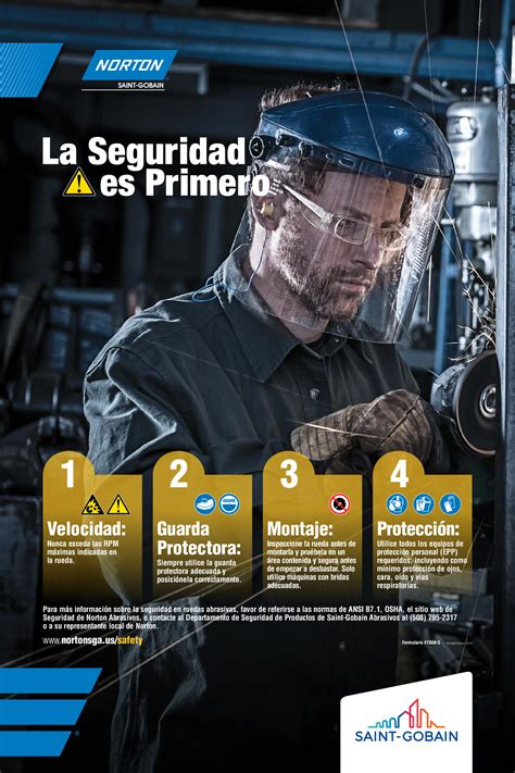 Safety Posters Now Available   Norton Abrasives
