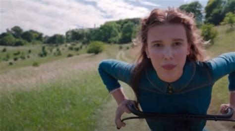 Netflix gives glimpse of Millie Bobby Brown's Enola Holmes