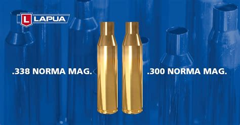 New Brass from Lapua in 300 and 338 Norma Magnum -The