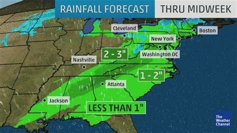 Rainy Week for East Coast | The Weather Channel