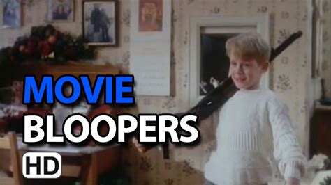 Home Alone (1990) Bloopers Outtakes Gag Reel - YouTube