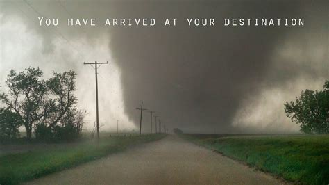 NAVIGATING TO A TORNADO - With Google Maps - YouTube