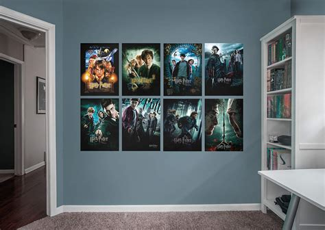 Harry Potter Movie Poster Collection Wall Decal | Shop