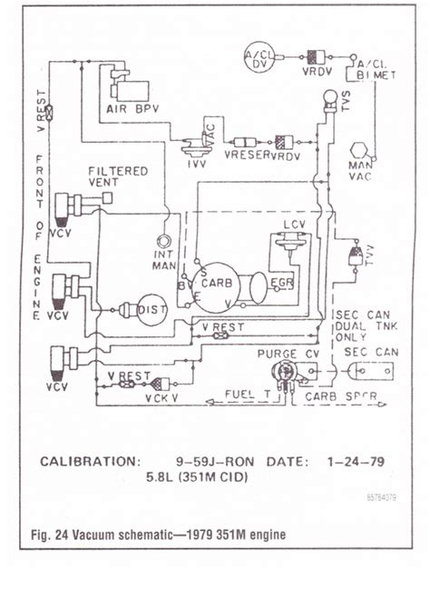 Vacuum diagrams; where to find them - Ford Truck