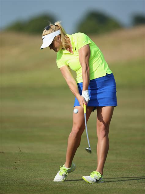 Carly Booth - Carly Booth Photos - ISPS Handa Ladies