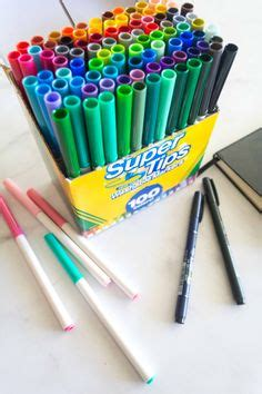 100 Count Crayola SuperTips Washable Markers: What's