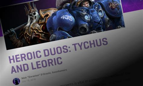Heroes News: Tychus and Leoric team up in another Heroic