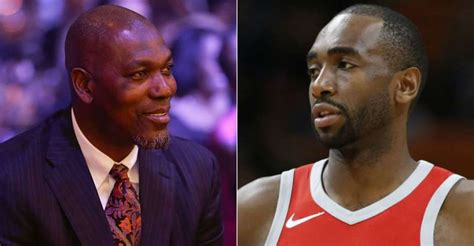 Visits by Rockets legend Hakeem Olajuwon have special