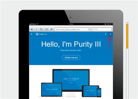 Right button in megamenu on mobile devices - JoomlArt