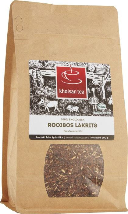 Buy Khoisan Tea Rooibos Licorice From South Africa - Made