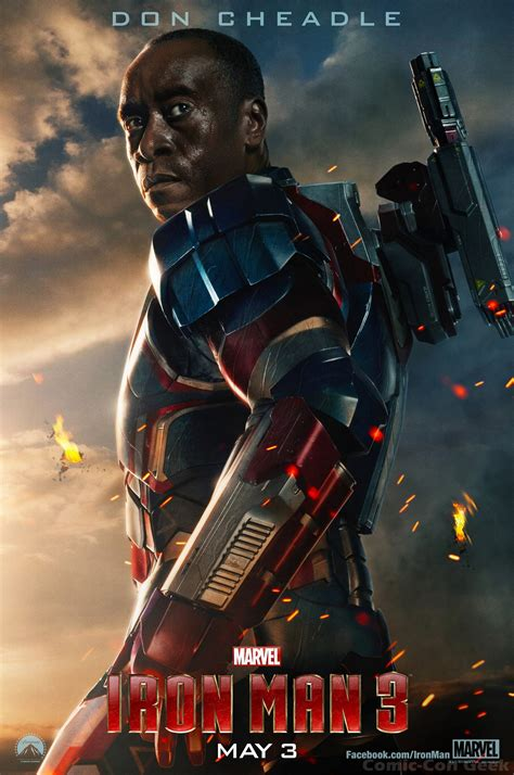 New IRON MAN 3 Posters and Empire Magazine Covers | Comic