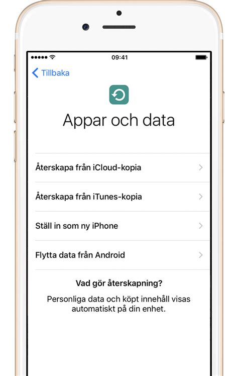 Ställ in din iPhone, iPad och iPod touch - Apple-support