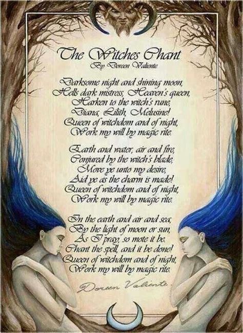 Witches Chant   Spells & Chants )O(   Pinterest   Witches