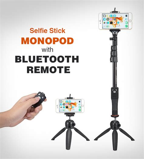 High Quality 10 Best Selfie Sticks & Monopods for iPhones