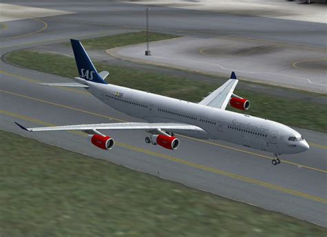SAS Airbus A330 And A340 Package for FSX