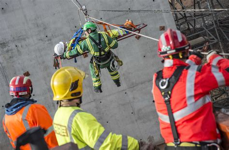 Major training exercise for emergency services on Costain